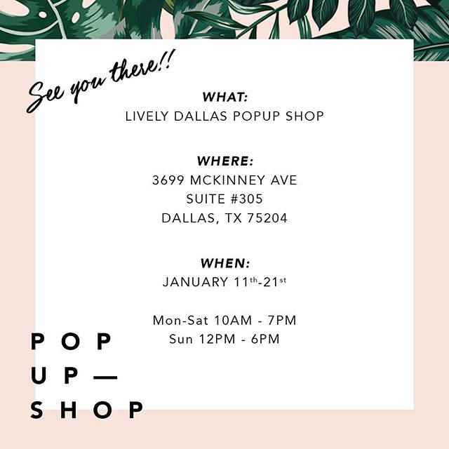 Wear Lively Pop Up West Village