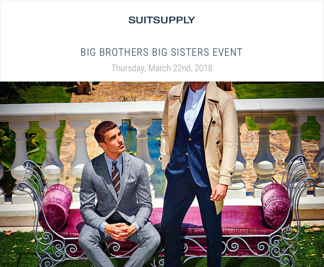 Suitsupply sample sale